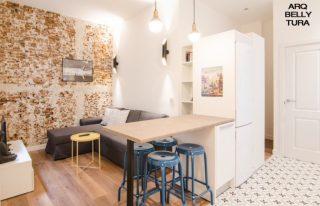 apartamento, salón, reformas, obras, interiorismo, decoracion, arquitectura