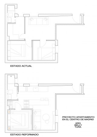 arquitectura, reforma, apartamento, interiorismo, decoracion